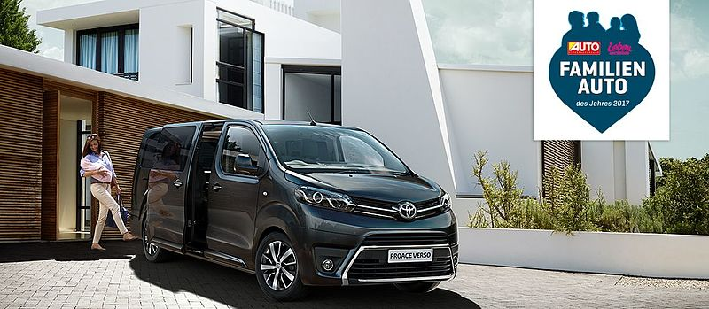 Toyota PROACE VERSO ist Familienauto des Jahres 2017